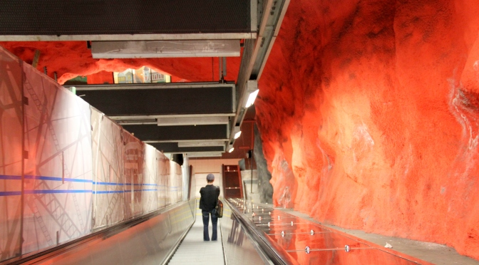 Cave Art of the Stockholm Metro